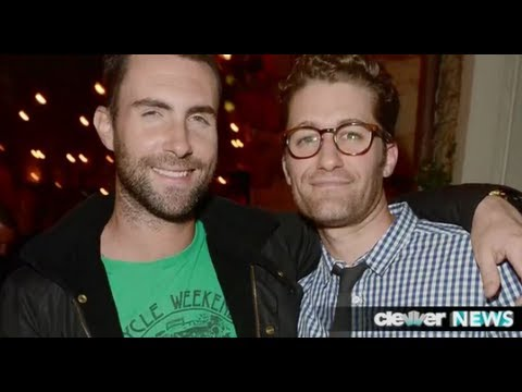 Adam Levine and Matthew Morrison's Night Out