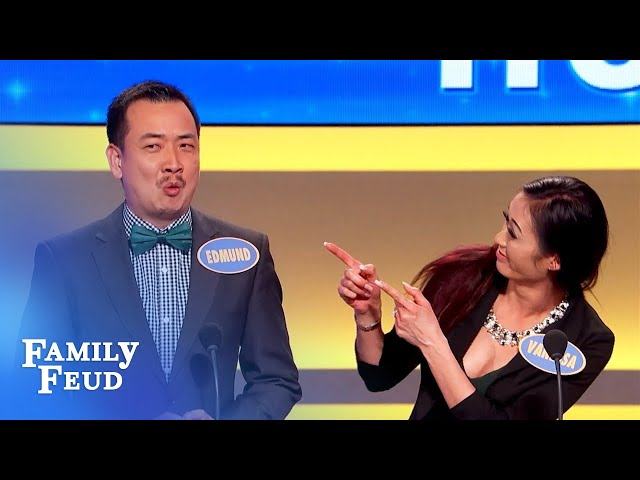 NO MAN looks good wearing THIS! | Family Feud