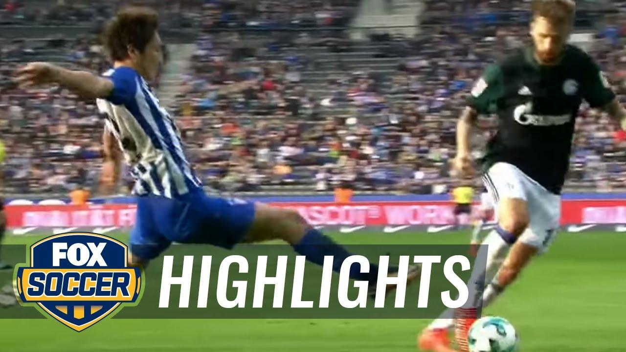 hertha schalke highlights