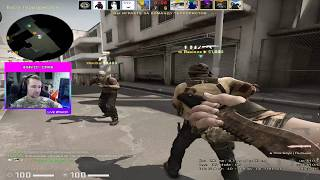 -4 awp, top kills, stream, clutch, game with followers