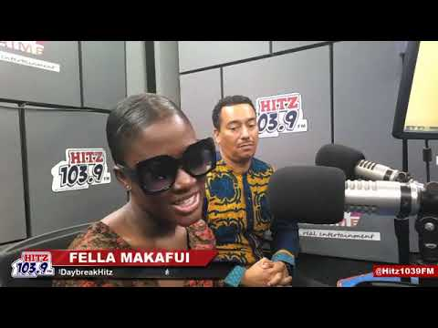 Watch Fella Makafui's full interview on day break hit on Hit FM with Andy Dosty