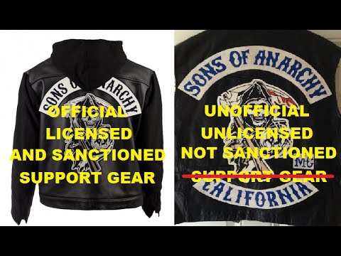 Sons Of Anarchy Unsanctioned Merch Is Not Showing Support For The Show