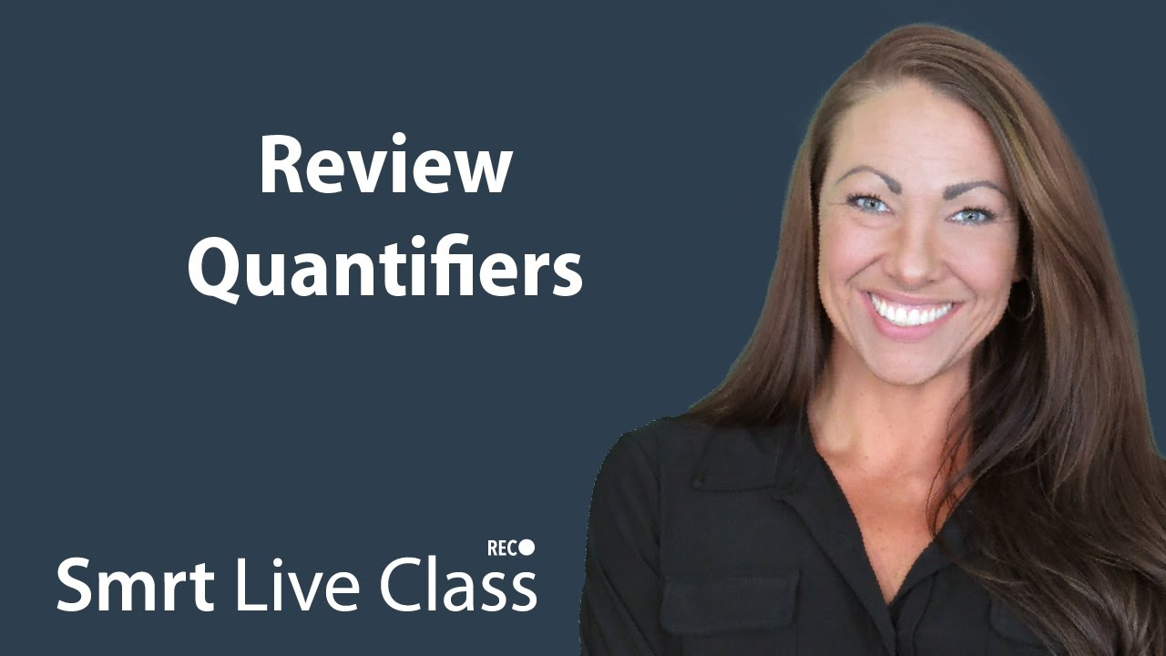 Review Quantifiers - Pre-Intermediate English with Abby #35