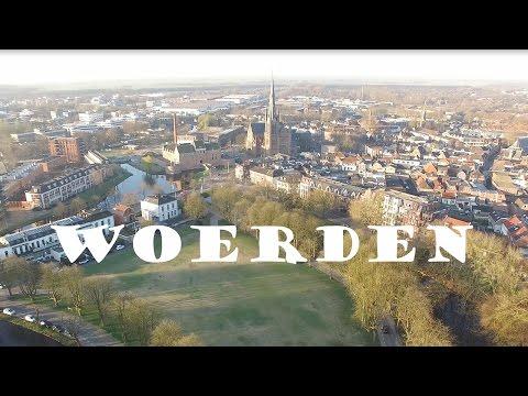 Woerden City unieke Drone beelden (4K)
