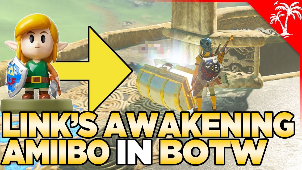What Happens If You Scan Link S Awakening Amiibo In Breath Of The Wild