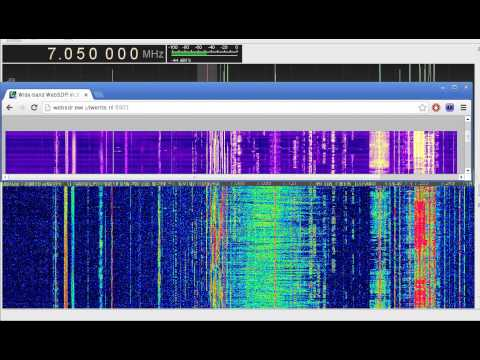 RTL-SDR gqrx direct sampling vs WebSDR on rtl2832u