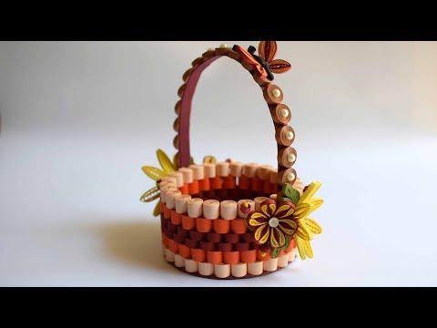 Paper Craft: Modern Art for Basket.