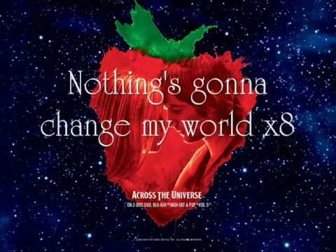 Across The Universe - Jim Sturgess {Lyrics}