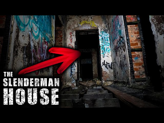 We Went Back and They Spoke to Us! HAUNTED SlenderMan House Investigation