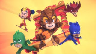 PJ Masks Season 3 Full Episodes 🗻 Clash On Mystery Mountain & A Teeny Weeny Problem 😂