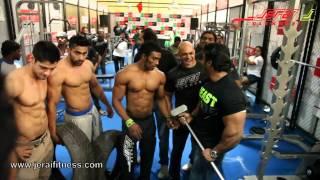 Sangram Chougule, Miihier Singh, Junaid Kaliwala, Ranjeet Singh - Jerai Fitness - Sheru Classic 2013