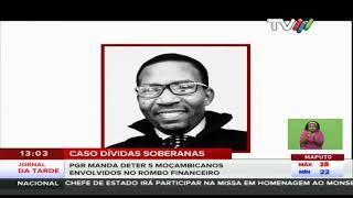 PGR manda deter 5 moçambicanos envolvidos no rombo financeiro