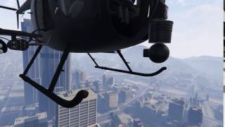 Buzzard Camera Movement Discovery (GTA Online PC)