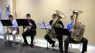 Brass tacks (Tuba Euphonium quartet)