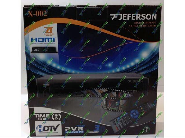 Видео обзор Jeferson X-002