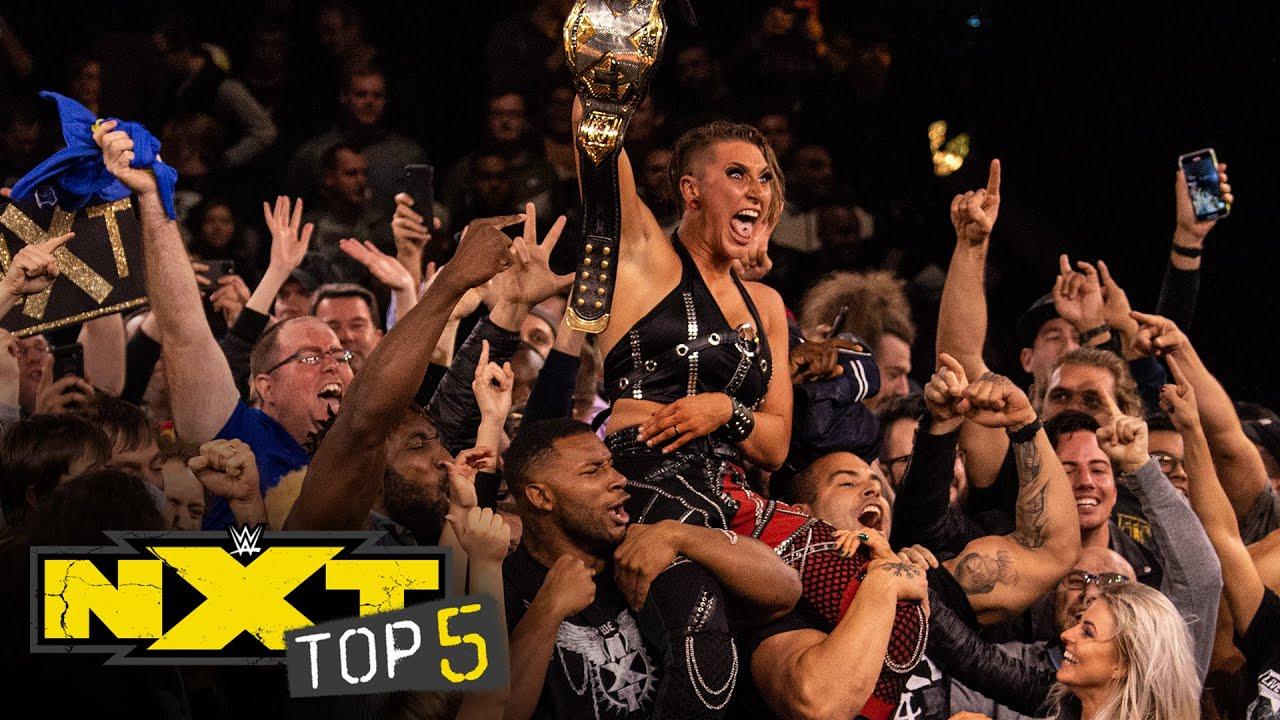 Rhea Ripley's greatest moments: NXT Top 5