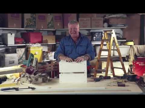 SCOTT CAM DIY: Timber milk crate - homes+