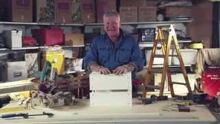Scott Cam Diy: Timber Milk Crate - Homes+