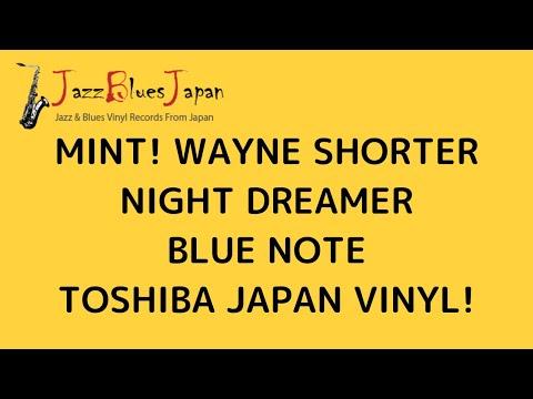 MINT! WAYNE SHORTER NIGHT DREAMER BLUE NOTE TOSHIBA JAPAN VINYL mp3