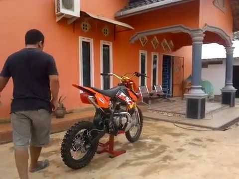 ide motor rx king modif trail