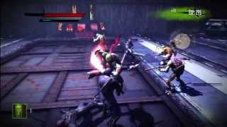 Teenage Mutant Ninja Turtles: Out of the Shadows, Xbox 360 Demo Gameplay