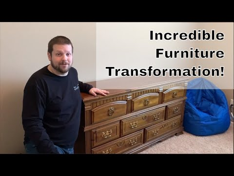 how-to-restore-old-wood-furniture-with-furniture-paint!