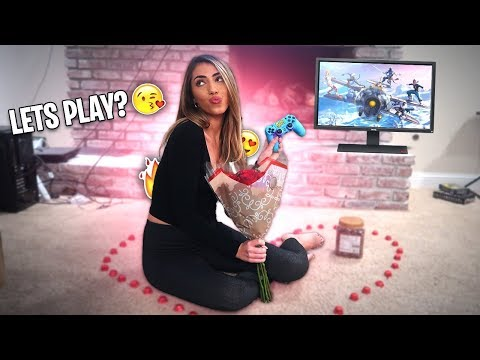 I took a HOT Model on a Fortnite Date & BOUGHT HER RARE SKINS! BEST DATE EVER!
