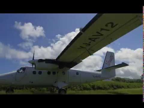 Air Vanuatu Take-Off - Mystery Island, Vanuatu