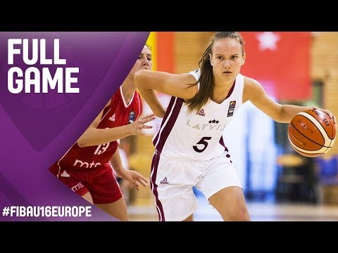 Latvia v Serbia - Full Game - Round of 16 - FIBA U16 Women's European Championship 2017