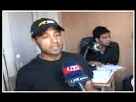 Dr Jatin Chaudhary New Helping Hand For Arjun Atwal (Live India) Dt 02/04/09