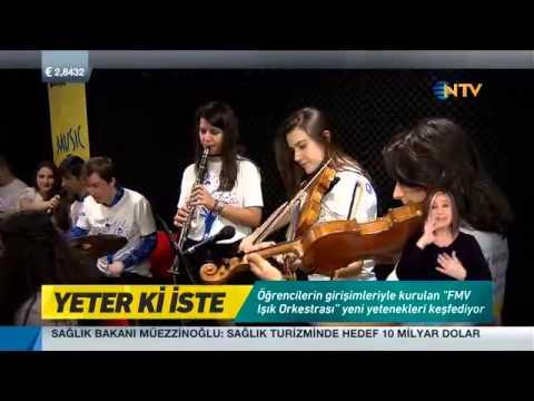 NTV - Yeter Ki İste - FMV Işık Üniversitesi - Özel Çocuklar Müzik Atölyesi