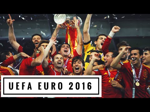 SPAIN - La Roja  ► EURO 2016 Team Profile HD