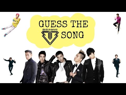 Guess The BIGBANG Song