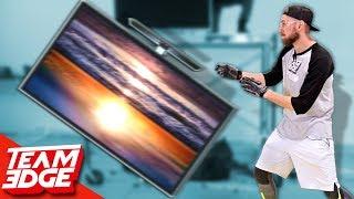 TV Flip   HUGE Flat Screen TV!!