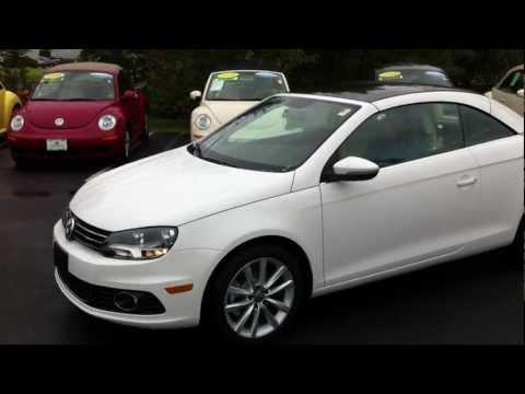 2012 Volkswagen EOS Convertible 2.0 TSI Roof Demo & Walkaround