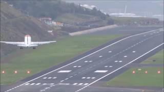 Avião suiço faha três tentativas de aterrar na Madeira
