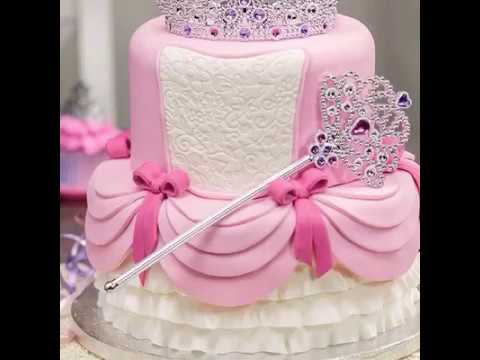 Princess Themed Cake Ideas For Baby Girls Birthday Youtube
