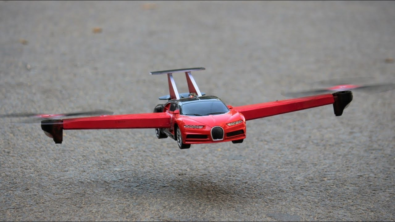 How To Make a Airplane - Aeroplane Car - BUGATTI Chiron