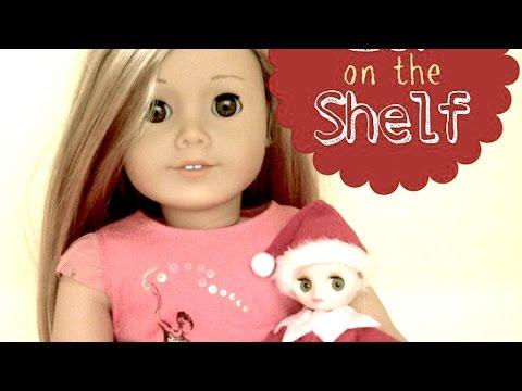 DIY American Girl Doll Elf on the Shelf