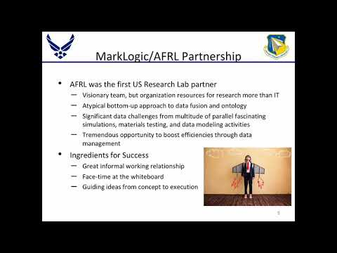 U.S. Air Force Research Lab: Improving Military Research With an Operational Data Hub