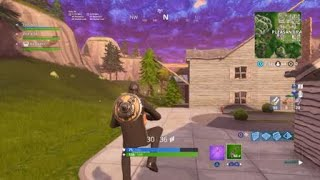 The final crack in fortnite exploded!!!!!!