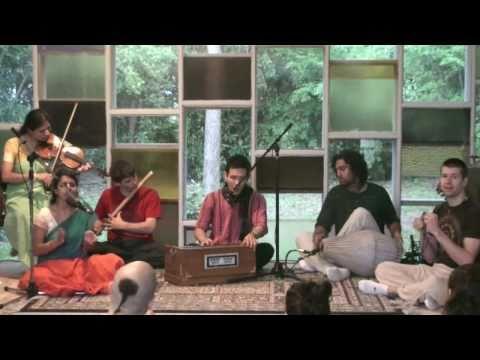 Bhajan - Kalachandji's Kirtan Group @ Denton Unitarian Church - Jaya Radhe Jaya Radhe Radhe - 1/6
