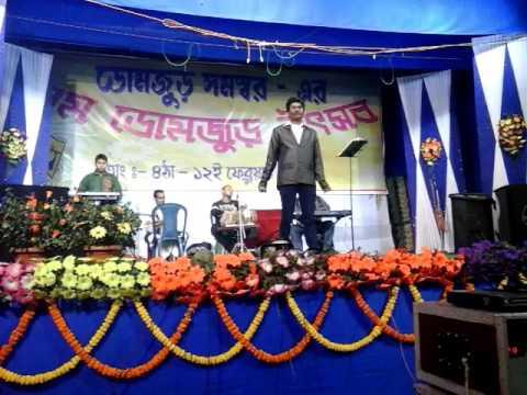 Ahawban Dutta at live stage performance