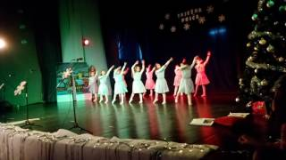 Božićna proslava 1b učiteljica Melita Lesić