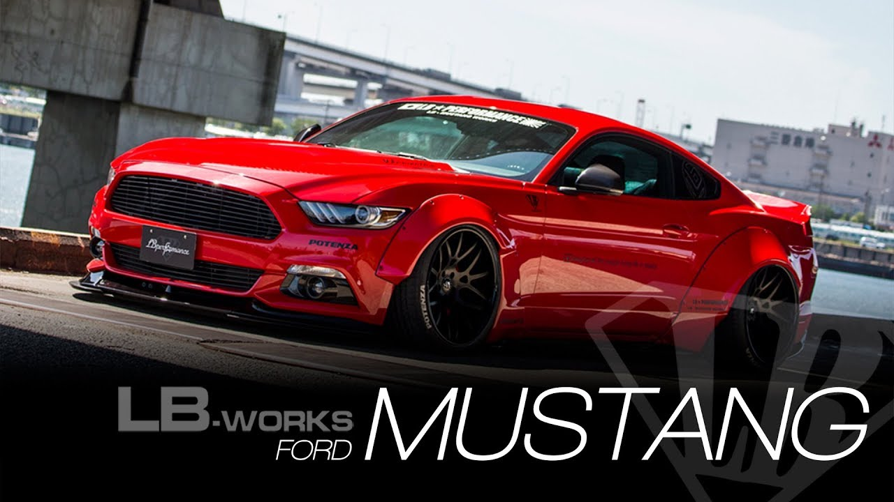 lbworks ford mustang youtube