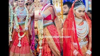Gali Janardhan Reddy Daughter Brahmani Reddy Wedding