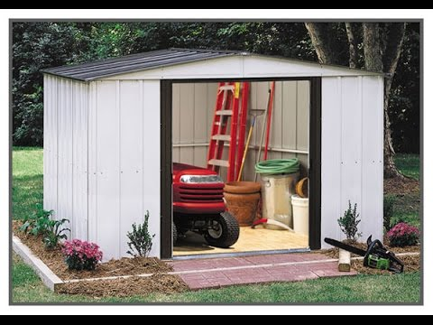 Step by step Arrow shed build. Part 1