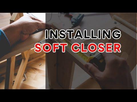 Installing Soft Closer