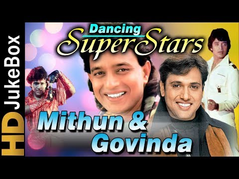 Dancing Superstars - Mithun and Govinda | Blockbuster Hindi Dance Songs | Superhit Bollywood Songs