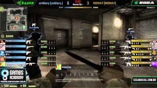 Liga GamesAcademy CS:GO #1 - Qualificatório II - NOWAY x unGlory